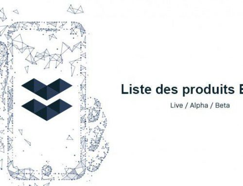 Liste des Produits Elastos