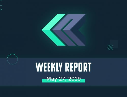 Weekly Report – May 27, 2019